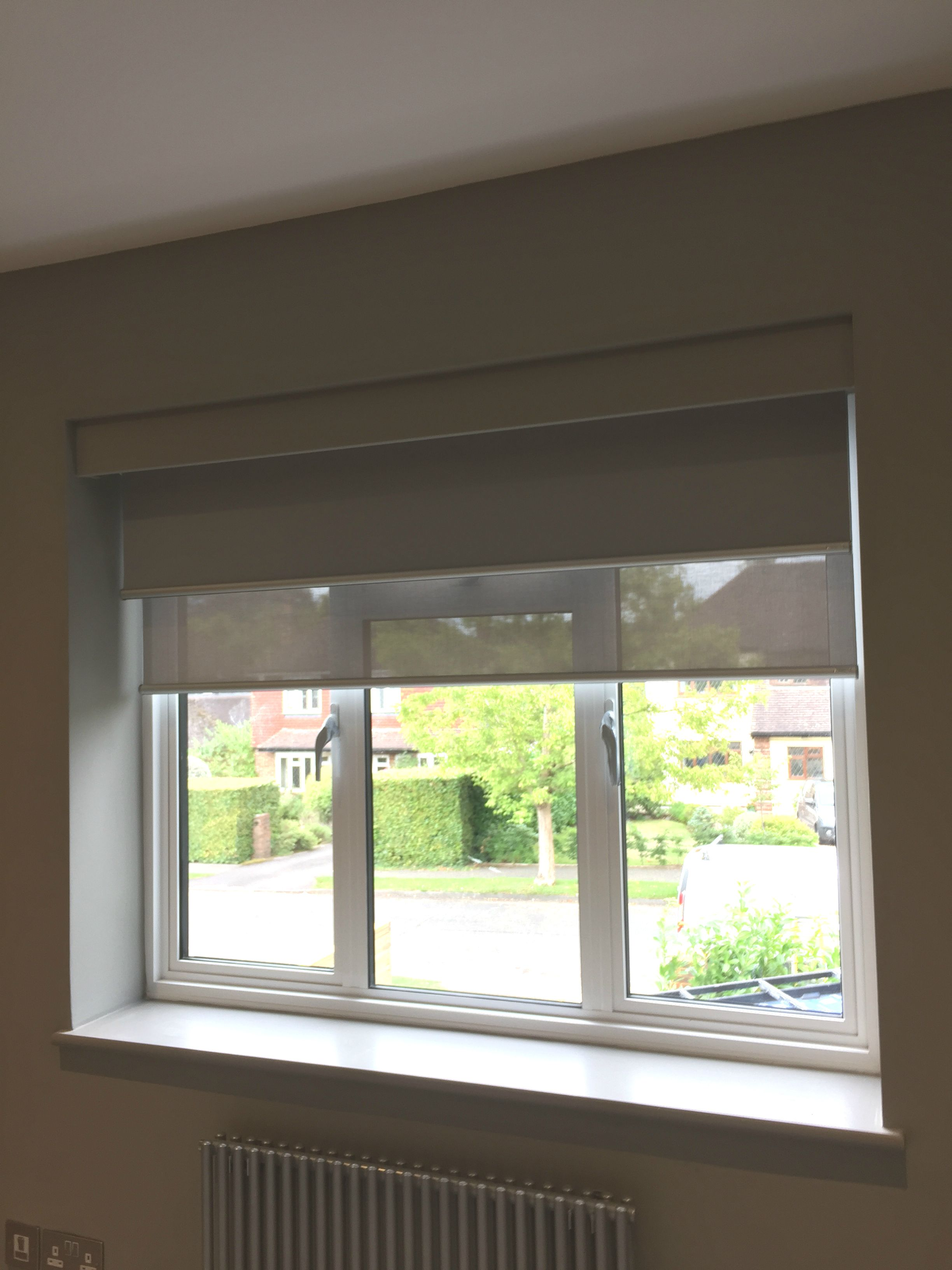 cut navy quality blind blackout roller to down furnished service itm blinds up