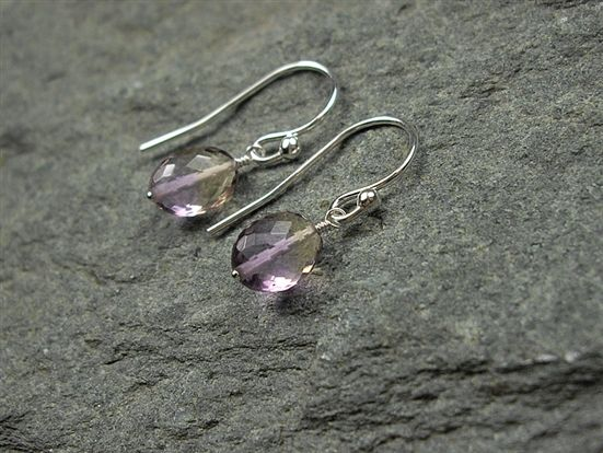 3.29 Carat Ametrine Earrings $150