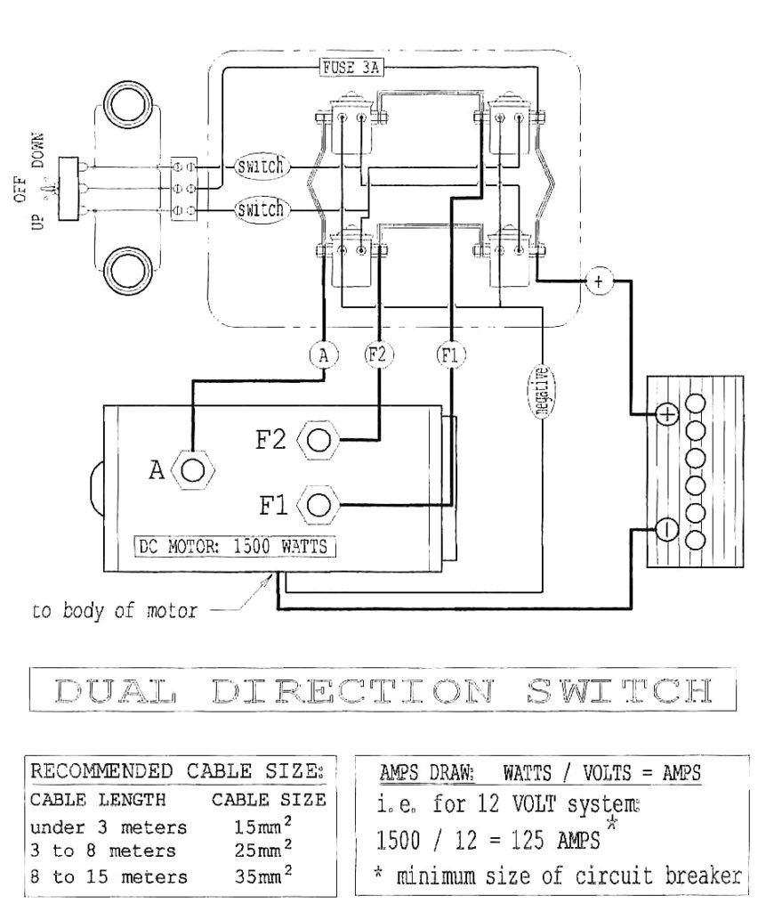 Warn A2000 Wiring Diagram | Electric winch, Diagram, Winch | Winch Wiring Diagram With Circuit Breaker |  | Pinterest