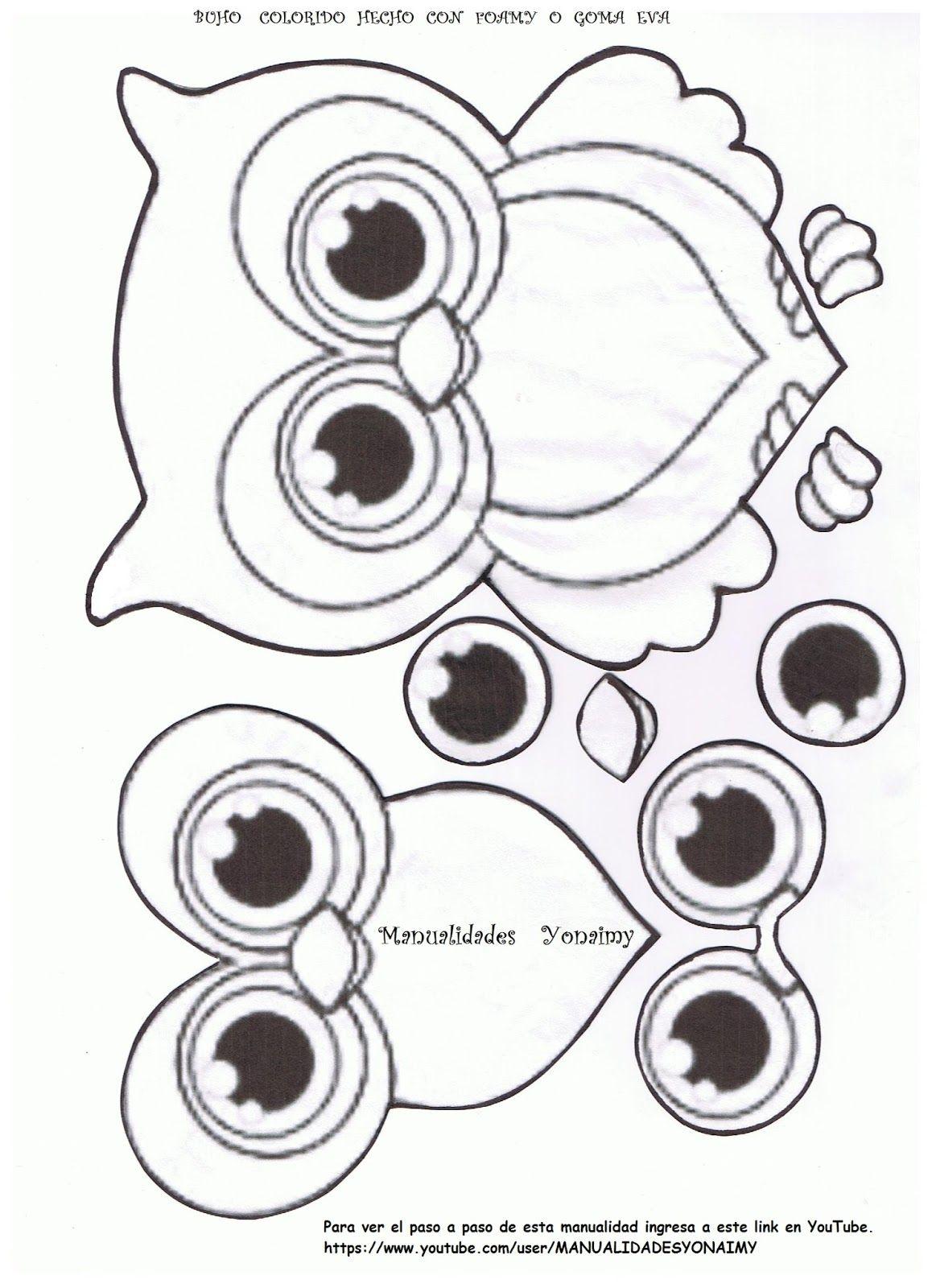 blog manualidades yonaimy - Buscar con Google   moldes de fomix ...