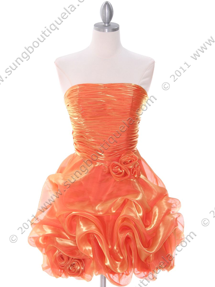 Promdresses orange prom dresses short homecoming dresses young