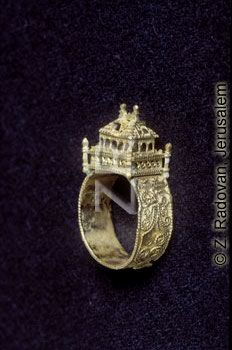 Ancient Traditional Jewish Wedding Ring From Central Europe