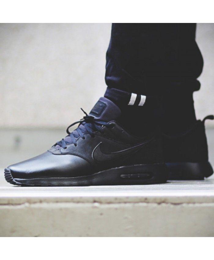 Nike Air Max Tavas Leather Black UK At