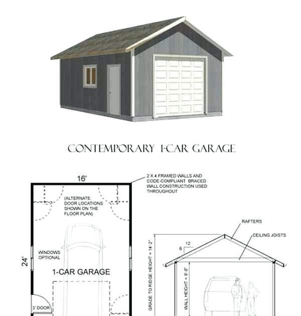 Making Garage Building Plans: Best Representation Descriptions: 24X30 Garage Plans With