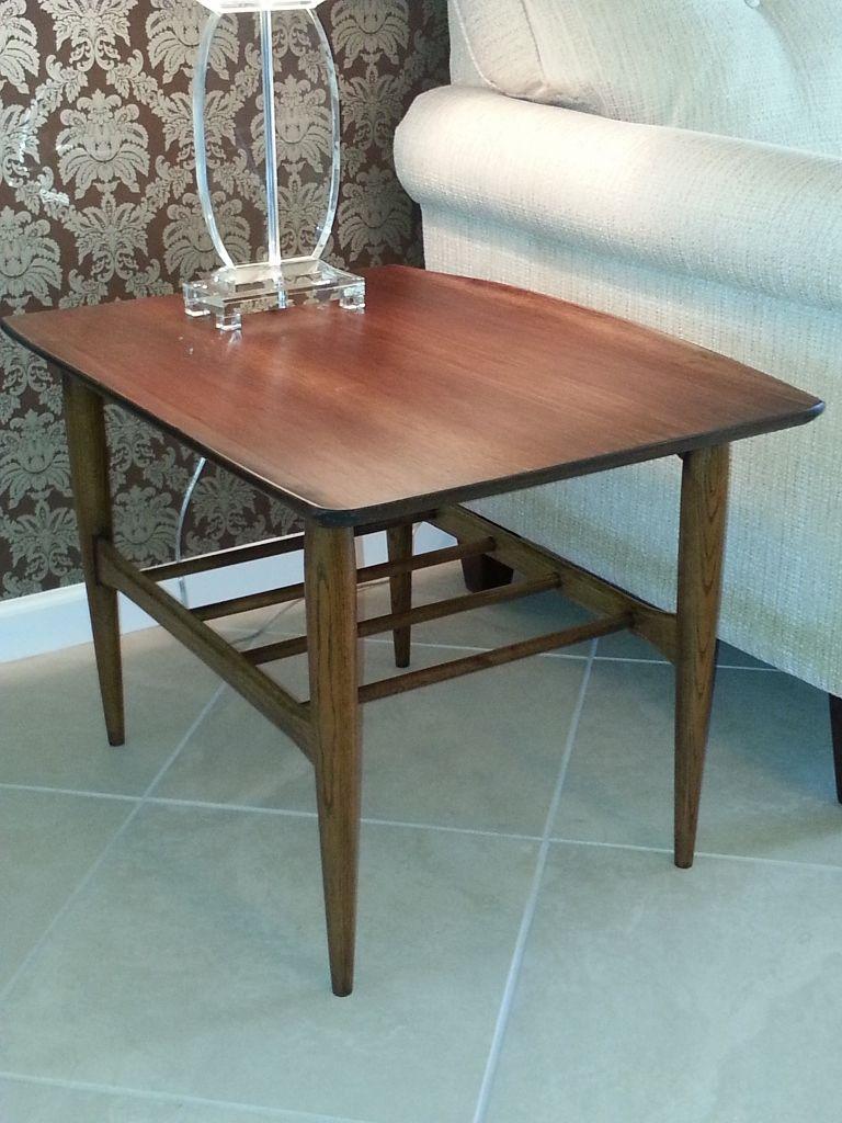 Vintage Bassett Artisan Surfboard End Tables   Completely Restored   FOR  SALE