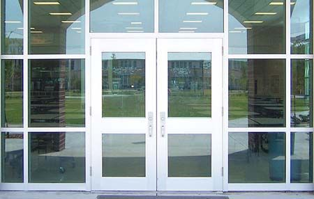 We repair and install new glass doors for residential for Residential front doors with glass