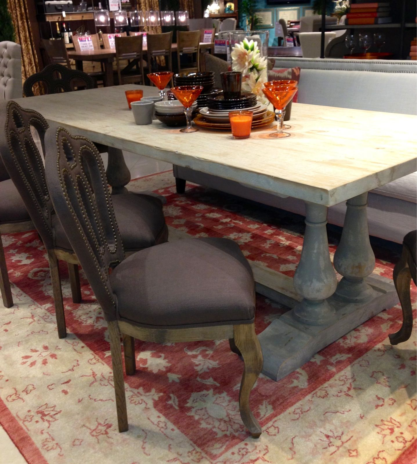Dont Be Afraid To Mix And Match Furniture Styles It Will Give Your Dining Room A Personalized Look
