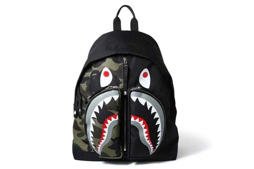 1821c32856f BAPE Drops Eye Catching Shark Packs for Summer