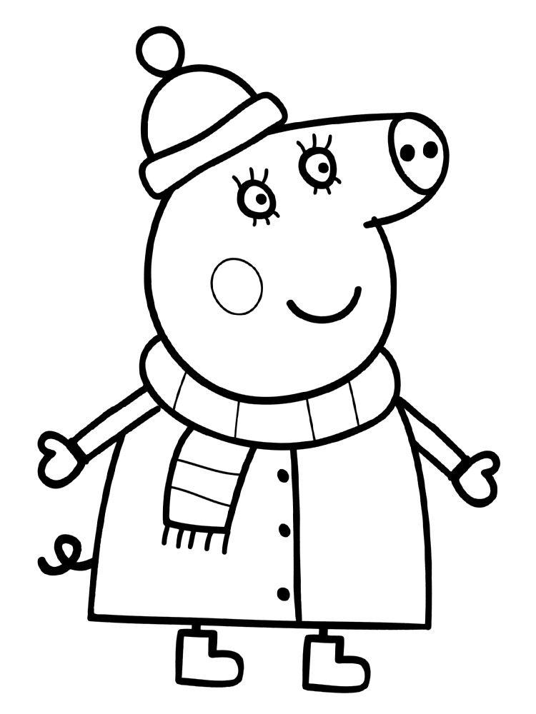 Descargar gratis dibujos para colorear - Peppa Pig | Para niños ...