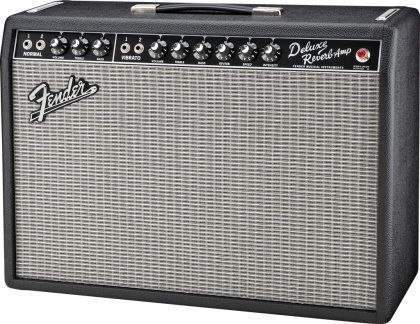 fender 39 65 deluxe reverb vintage reissue guitar combo amplifier 22 watts 1x12 folk music. Black Bedroom Furniture Sets. Home Design Ideas