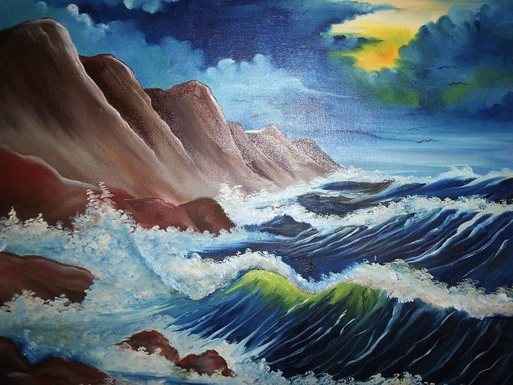 #pinturas #arte #oleosobretela #julianototoli #pinturaemtela #cores
