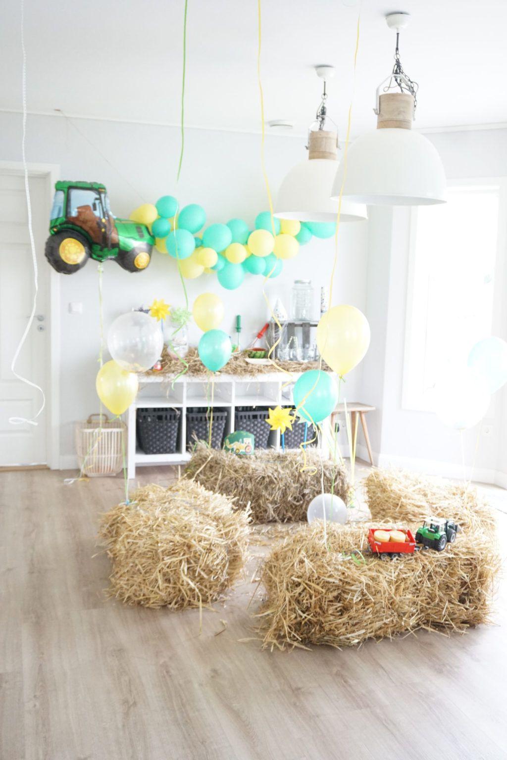 Traktor Geburtstag Einladung Torte Deko - Deko-Hus