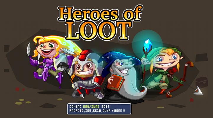 Heroes of Loot Αναζήτηση Google Hero, Free android