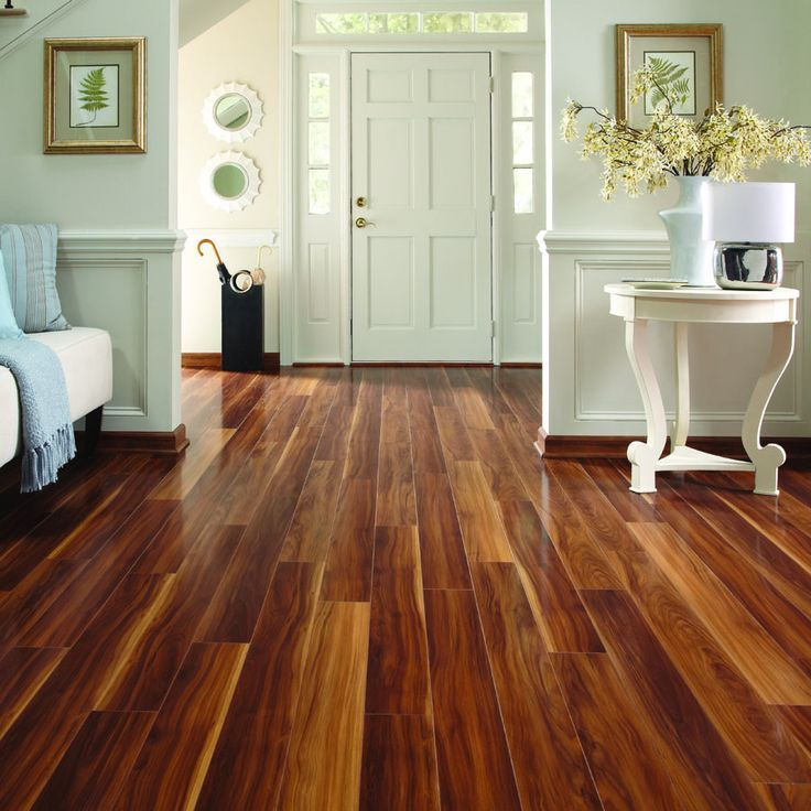 Laminate Plank Flooring Pergo Max 5 In W X 397 Ft L Visconti Walnut