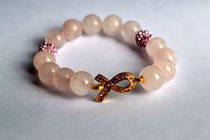 """Purchase the """"Survivor"""" bracelet for Breast Cancer Awareness month  at Rebellerie.bigcartel.com"""