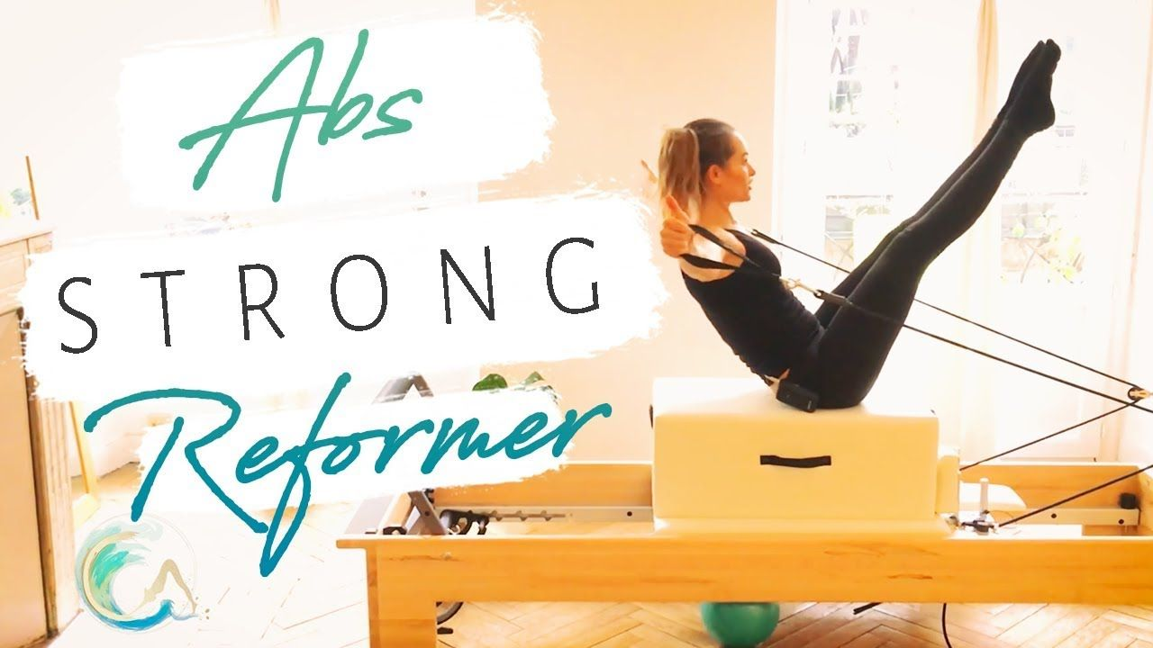ABS STRONG Athletic Pilates REFORMER Workout Preview - - YouTube #pilatesvideo