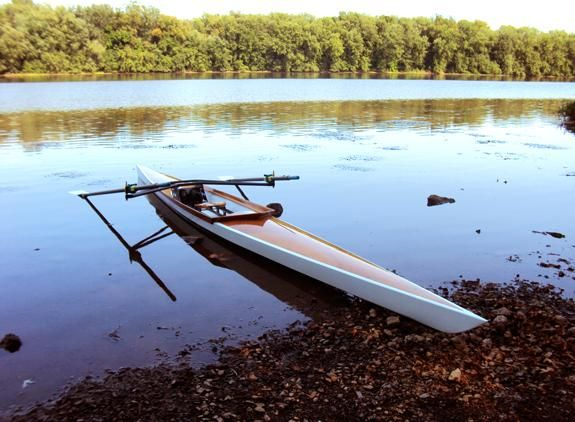 Oxford Shell: A Beautiful Recreational Rowing Shell That You Can Build! | Studio final New ...