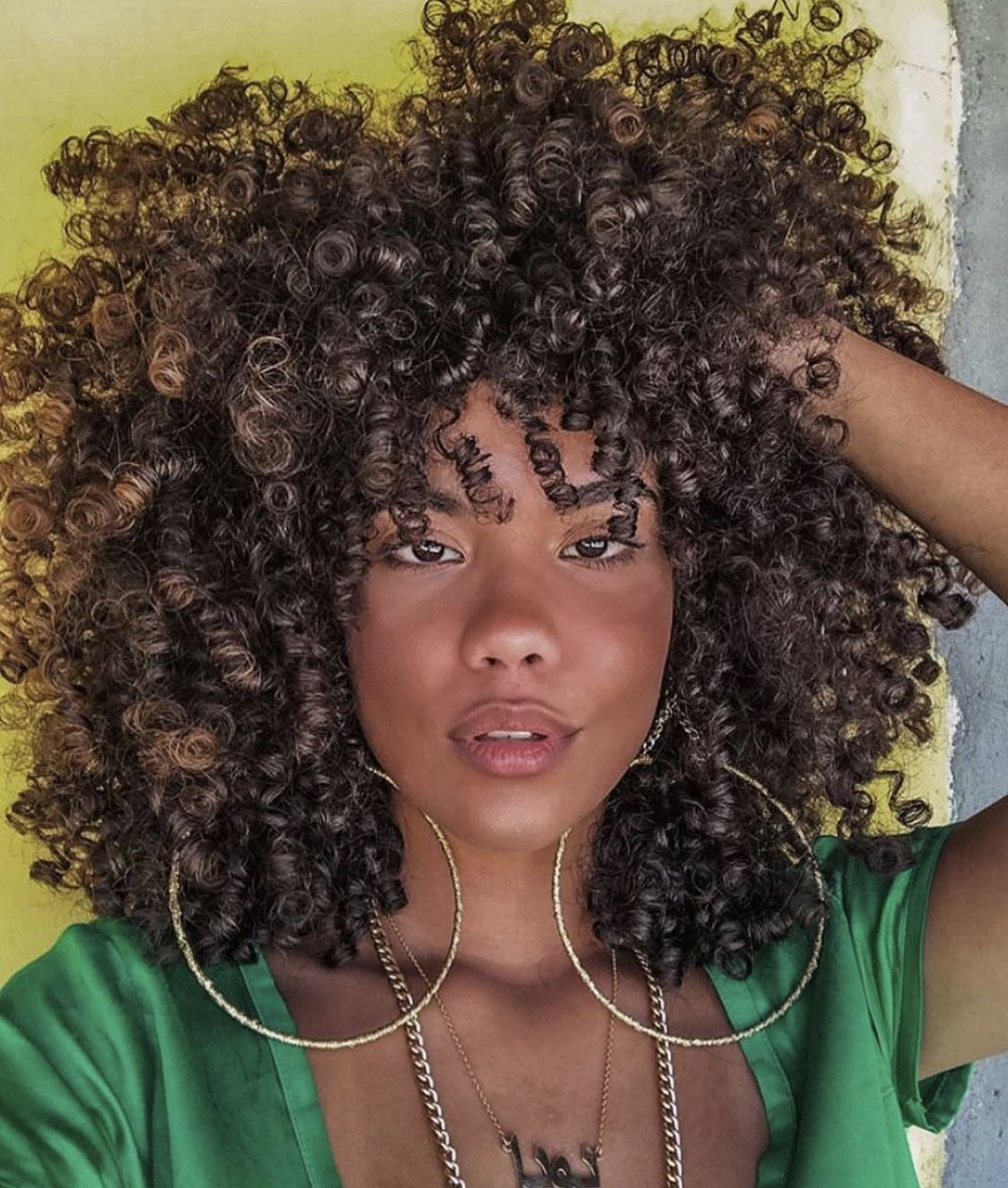 Pin By Celia Regina On Cabelos Crespos E Cacheados Natural Hair Styles Curly Hair Styles Hair Beauty