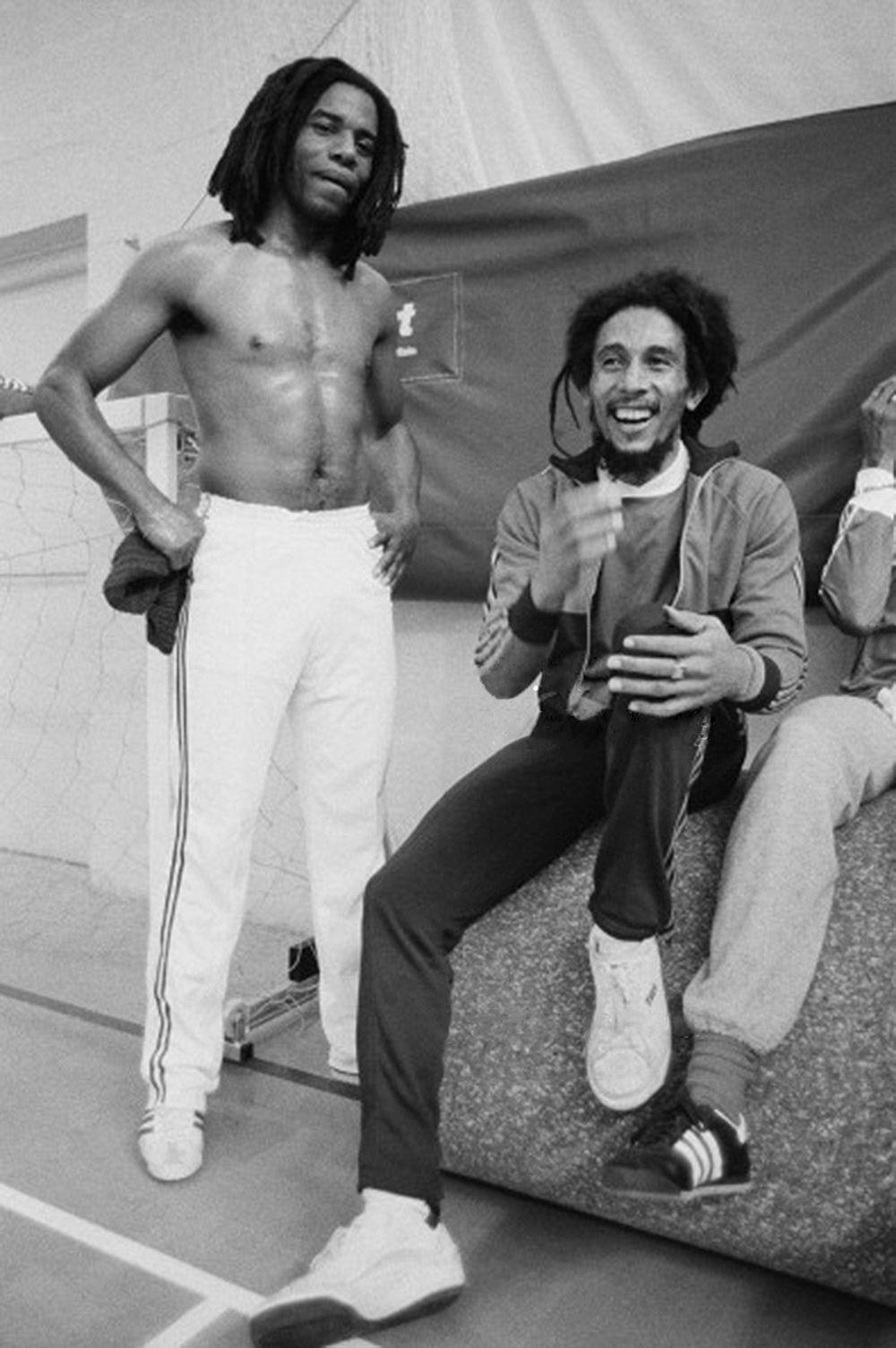 Bob Marley With Eddy Grant Bob Marley Legend Bob Marley Marley