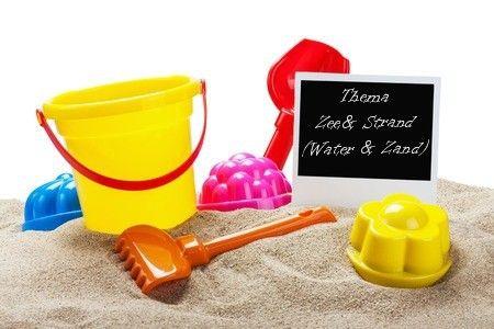 Water en zand (thema zee en strand)