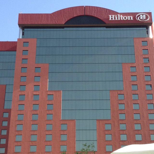 Hilton in Guadalajara.