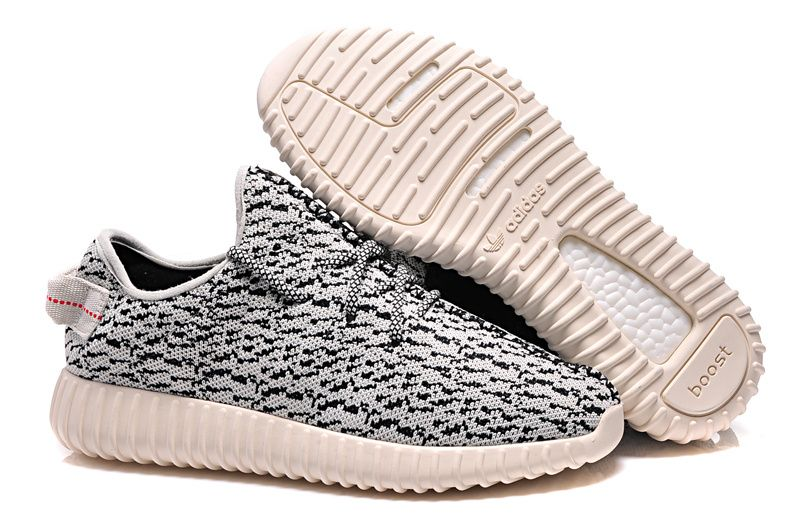 Adidas 350 Kanye West Yeezy Men Woman Running Shoes grey