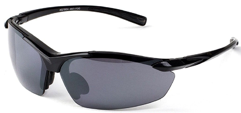 Naute Sport AirTop AntiFog Sunglasses 68mm (Black, Smoke