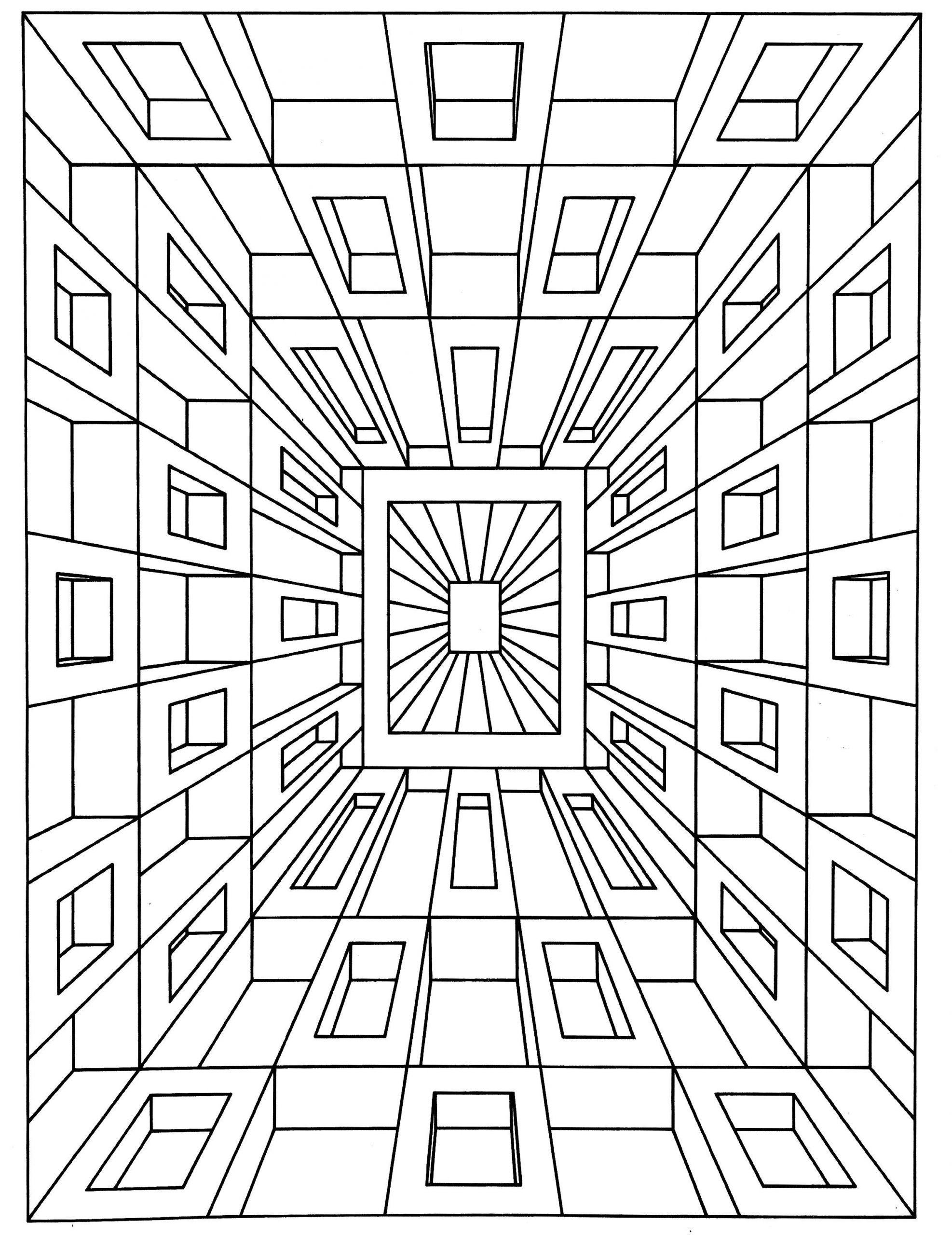 6 Worksheets Color Patterns In