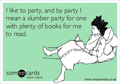 Bookish Slumber Party