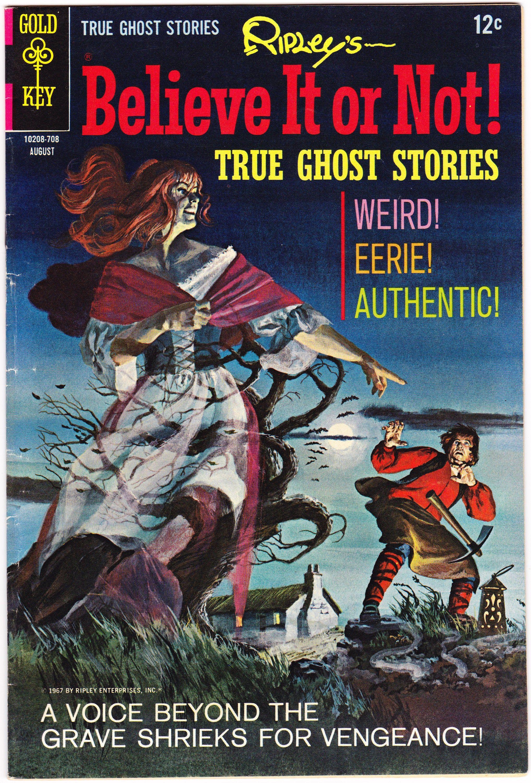 Ripley's Believe It or Not 6, Horror comic book. 1967 Gold Key FVF (7.0)
