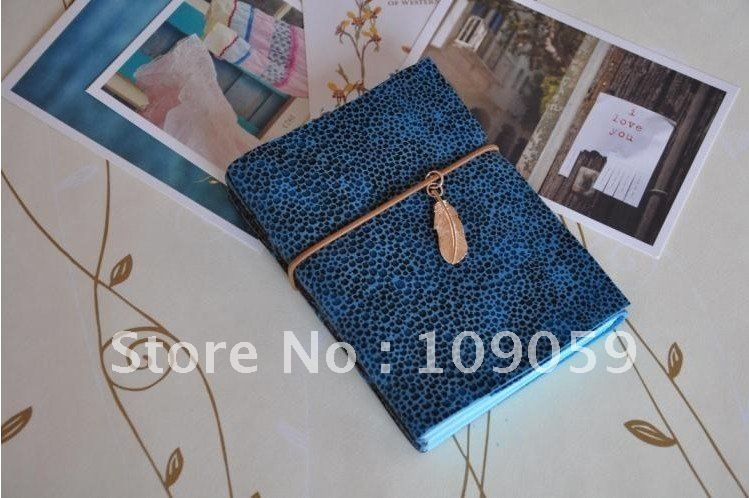 Free shipping! creative Vintage handmade manual, leather A6 Diary /Notepad/Paper notebook/note book/wholesale