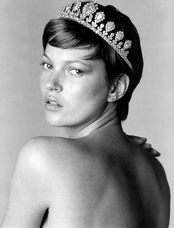 Kate Moss by Bert Stern forVogue Paris, August 2001