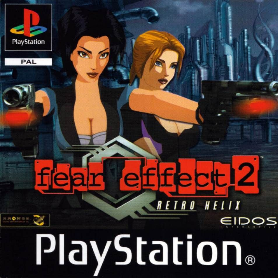 fear effect 2 retro helix more an interactive story than a video