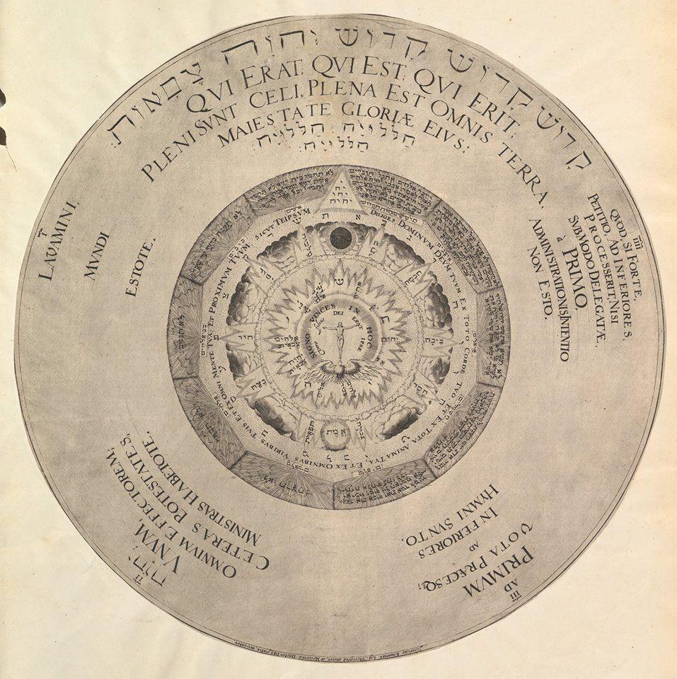 Khunrath's Cosmic Rose/Pentagrammaton.