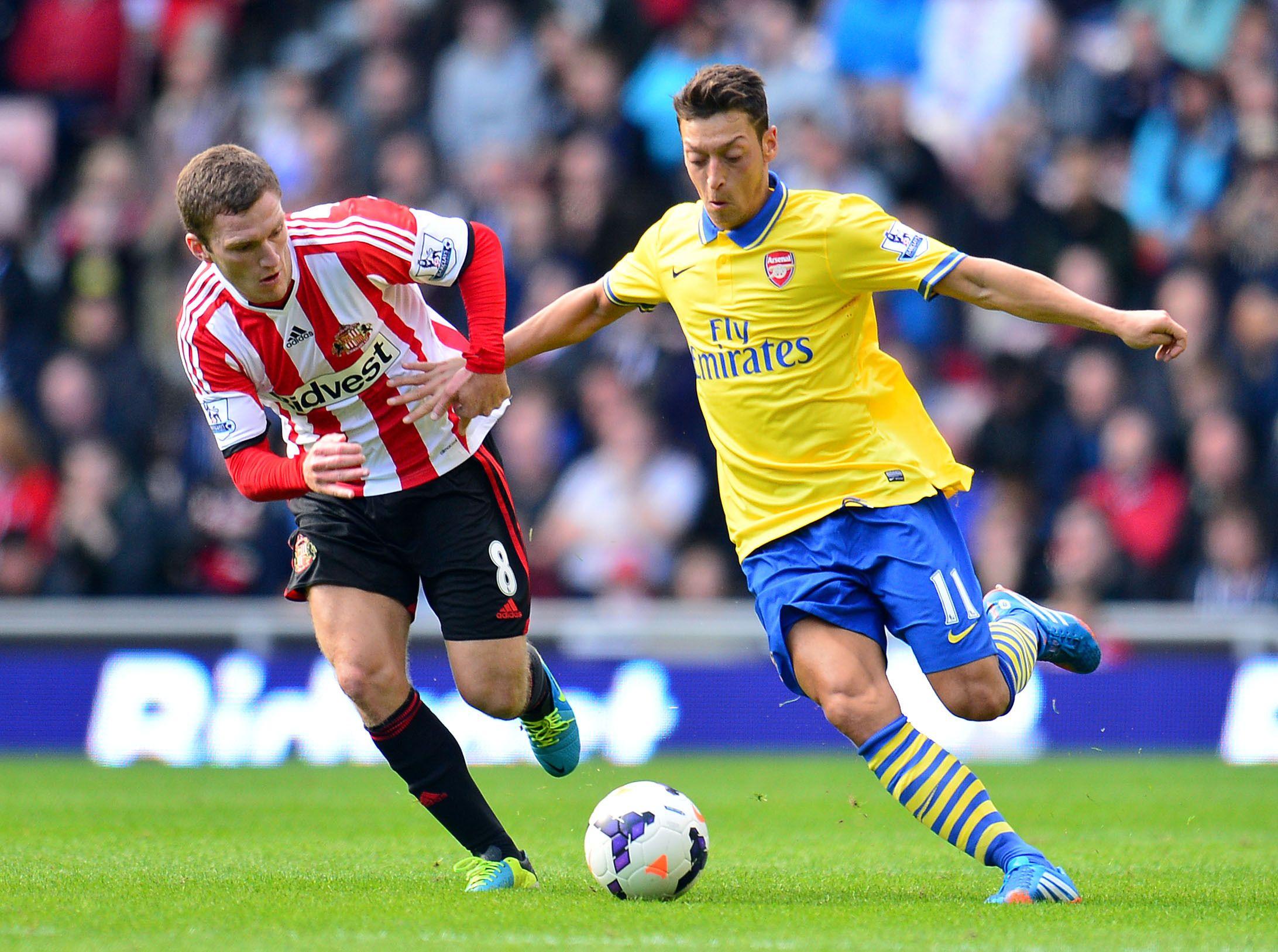 Sunderland 13 Arsenal 14/09/13 [Mesut Ozil] Soccer