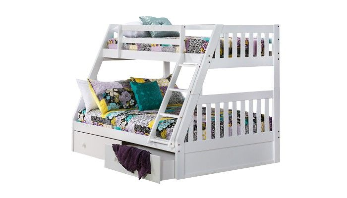 Best Slumberland Furniture Knollwood Collection White Twin 400 x 300