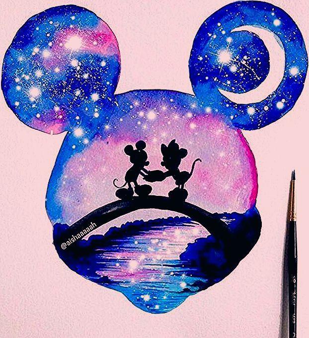 Photo of Jeder liebt Disney, richtig?! Doppelbelichtung von Aishaaaaah auf Instagram
