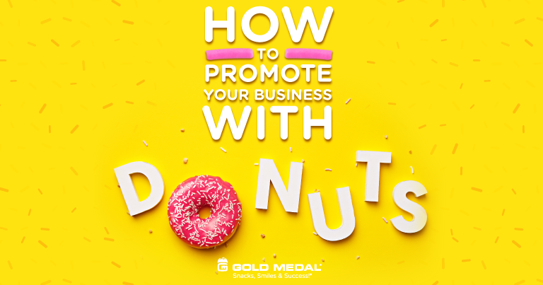 How to Promote Your Business With Donuts! National