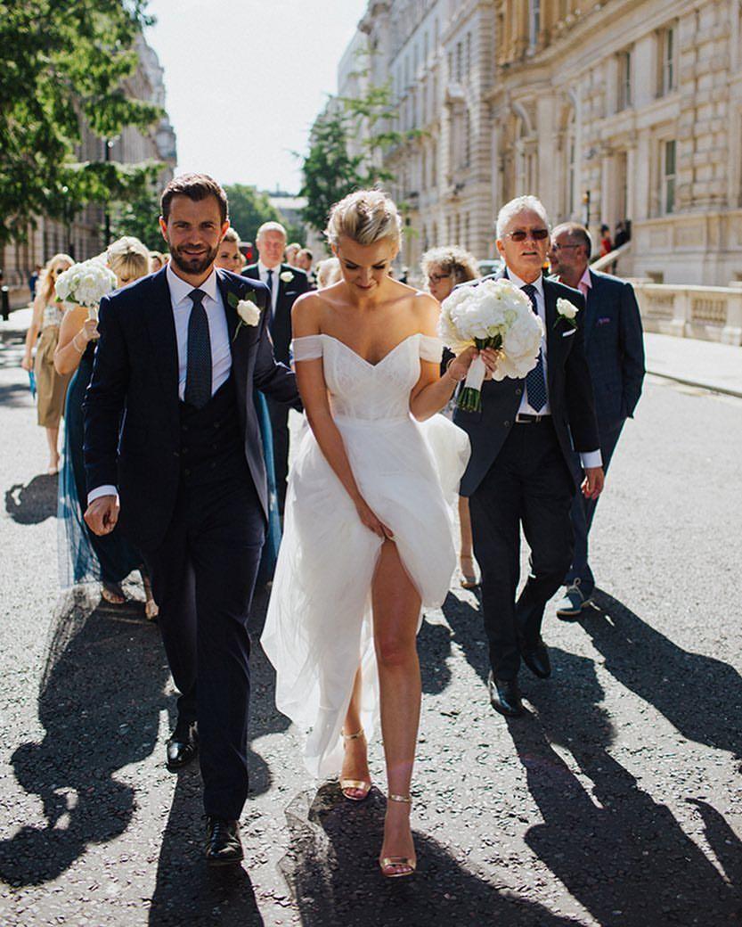 Wedding Entourage Gowns: Pin By Hannah Calhoun On Wedding In 2019
