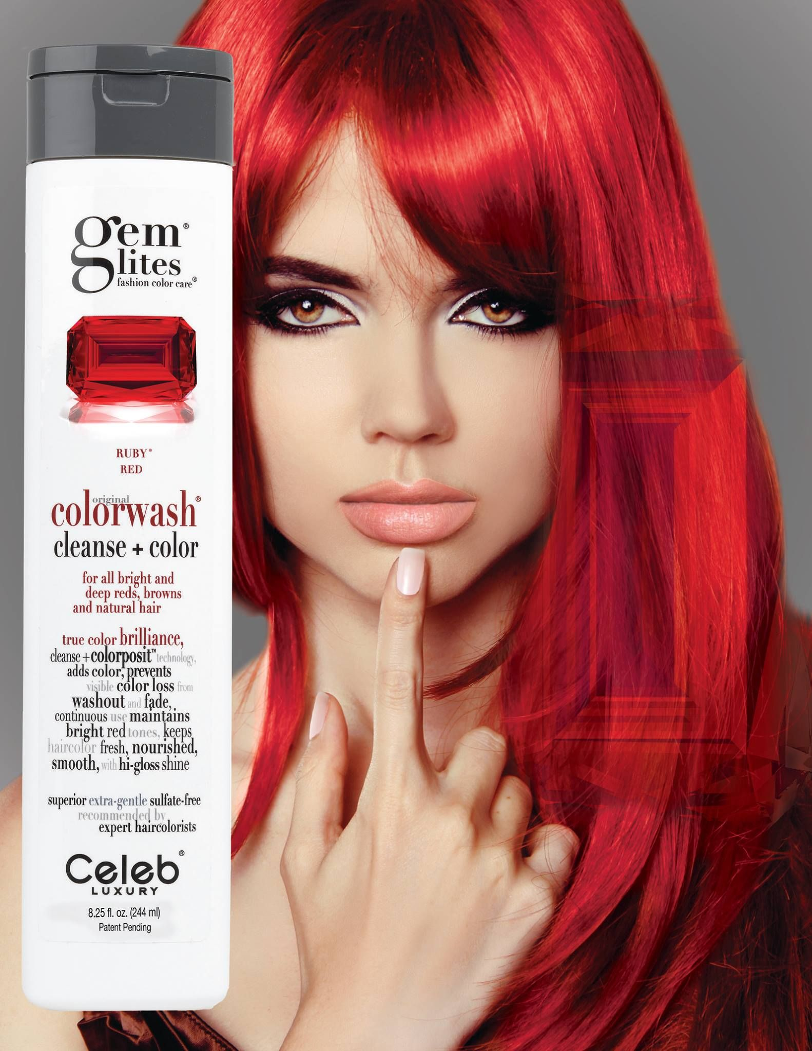 Fight The Fade With Celeb Luxury Colorwash Shampoos Each Wash Will Cleanse Your Hair And Replenish Your Colo Beauty Hair Color Red Hair Color Light Brown Hair