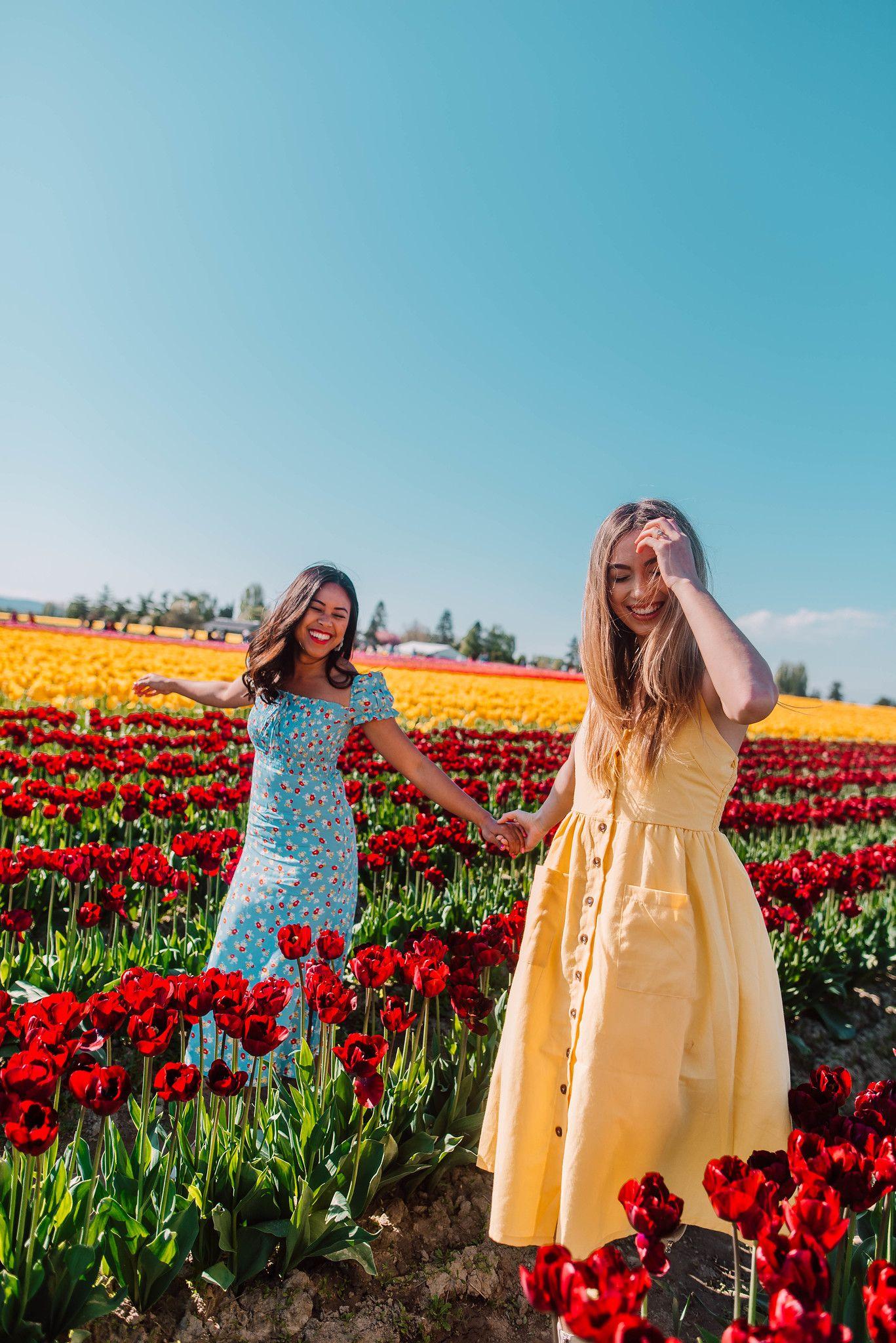 6 Flower Field Photo Shoot Ideas To Try   Flower field ...