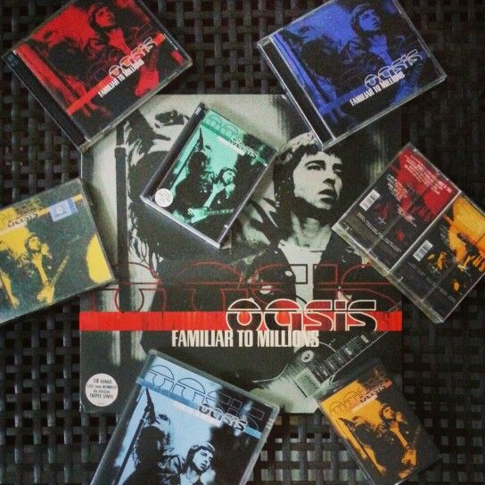 Adding to my colection. Most Favourite | #oasis  F A M I L I A R  T O  M I L L I O N S | #oasismusic | #oasiscollections | #oasiscollectors | #oasisphotoghraphy | #oasismania | #madferit |