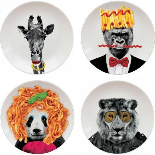 ideecadeau.ch | Wild Dining Assiettes design