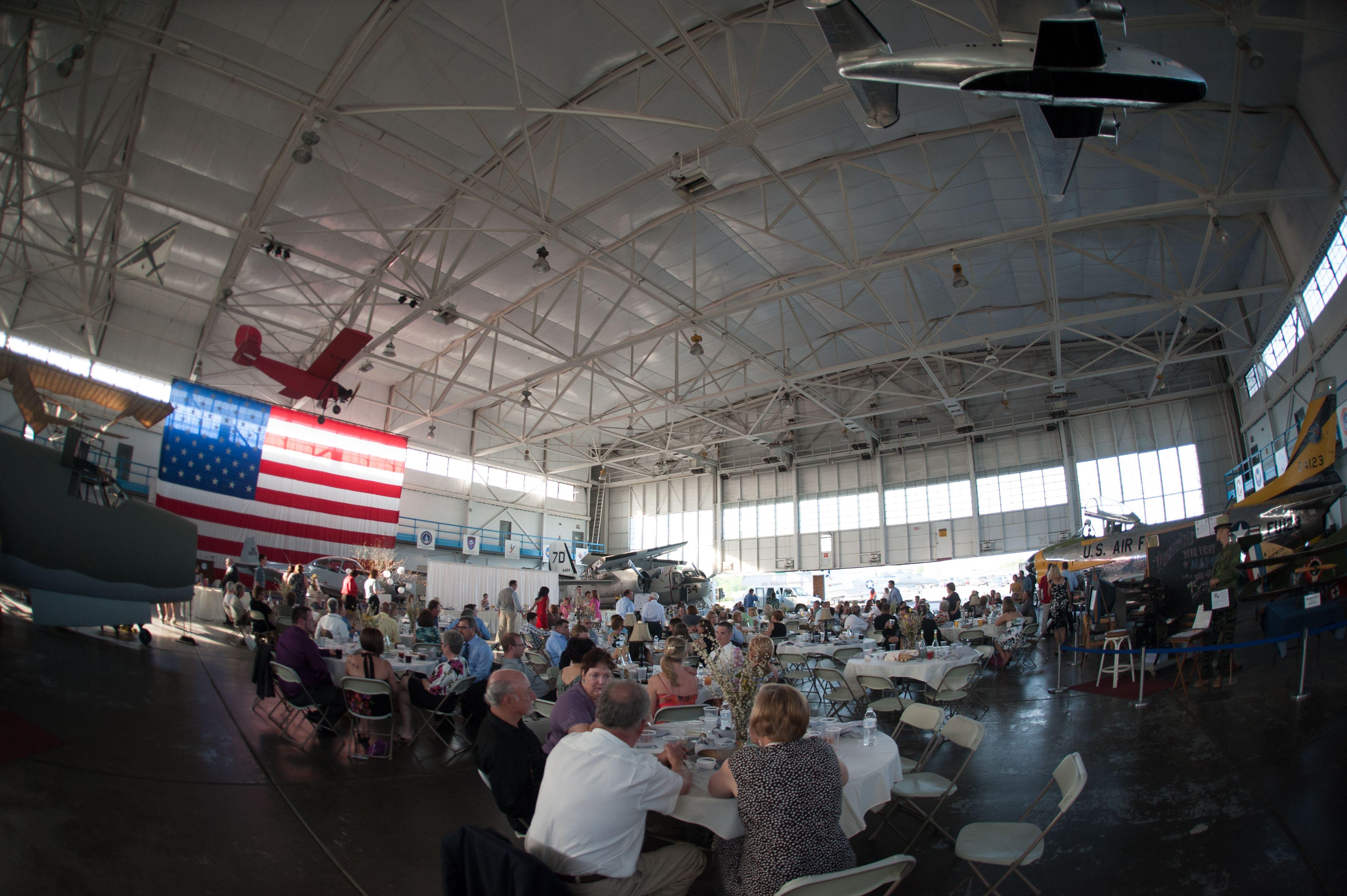 venue, full. MAPS air museum, North Canton, Ohio North