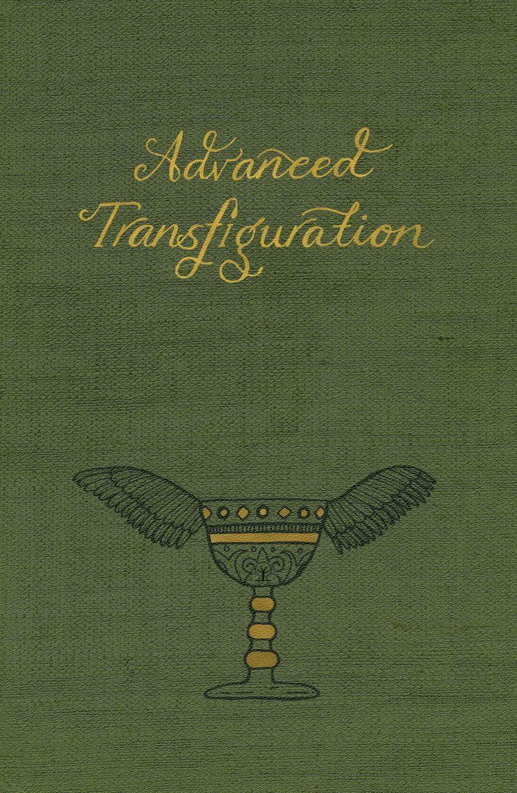 Book Cover Design Fees ~ Harry potter book cover advanced transfiguration holly