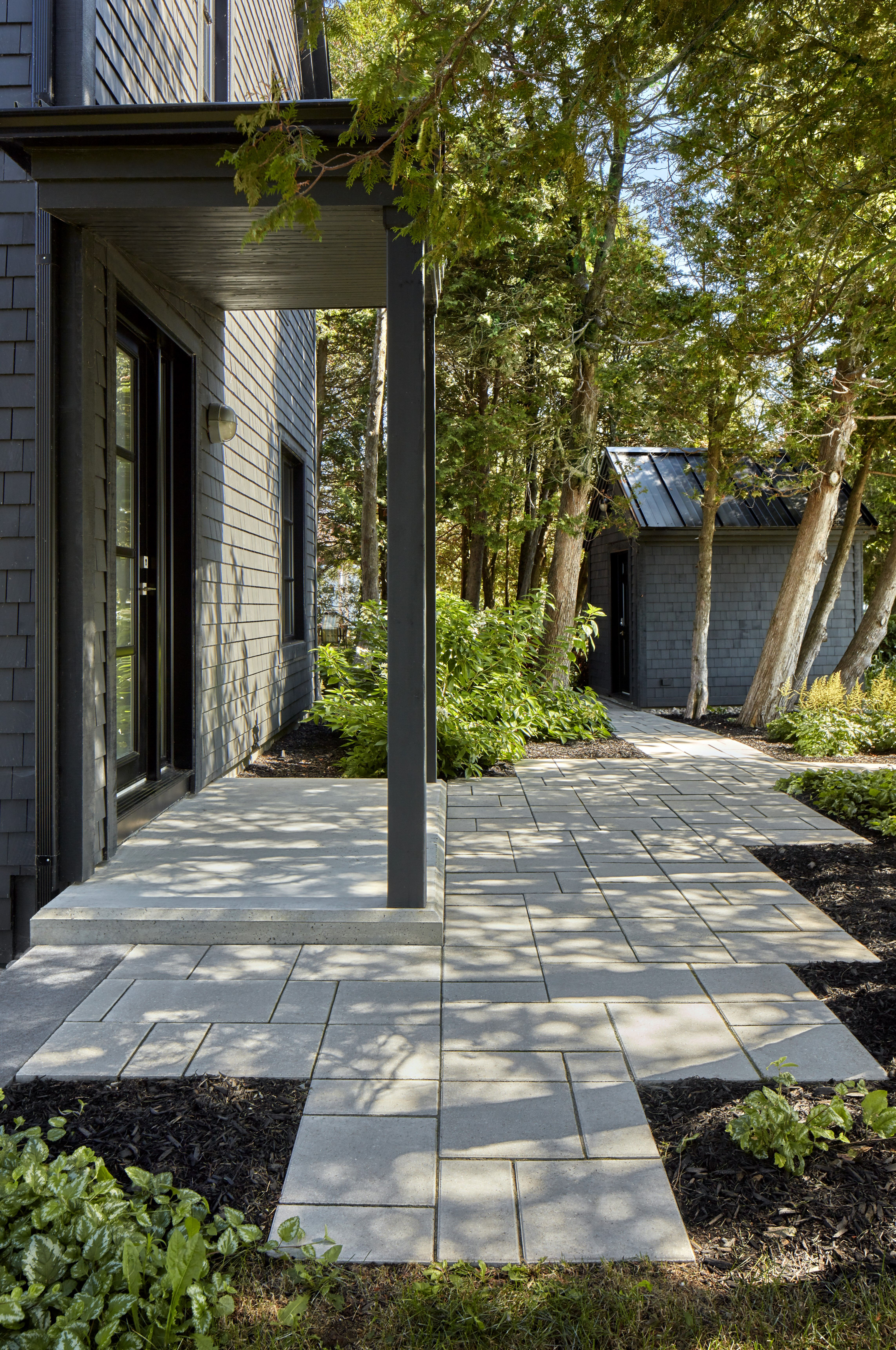 Walkways To Front Door Patio Upgrade Front Door Home Landscaping