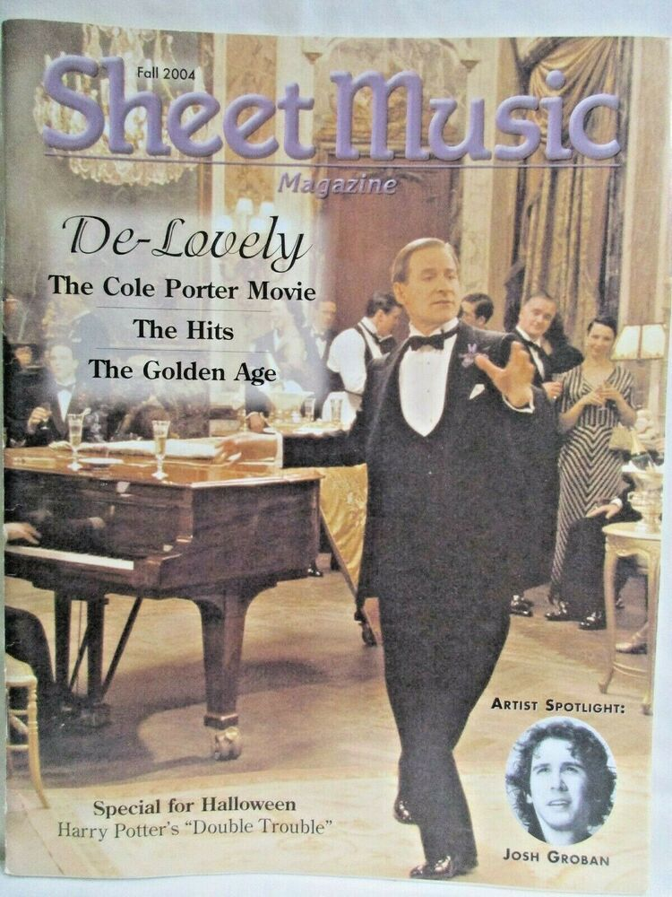 Sheet Music Magazine Fall 2004 Josh Groban Harry Potter Cole Porter 16 Songs Ebay In 2020 Music Magazines Sheet Music Songs Josh potter is on this week's #top5 and we find out why everyone thinks buffalo sucks, when his last cool dream was, what he'd be doing if he wasn't in. pinterest