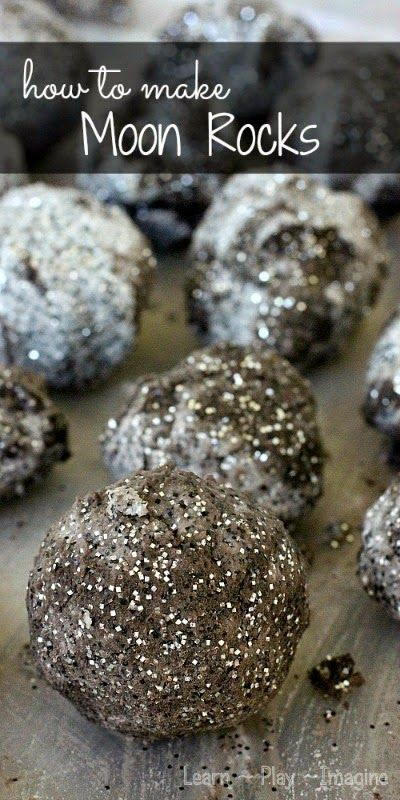 How to Make Moon Rocks. Fun science experiment for kids! Make erupting moon rocks.