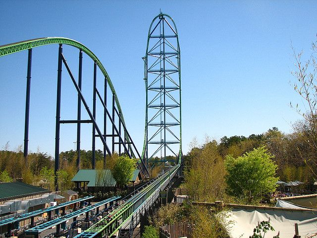 Kingda Ka Six Flags Great Adventure Roller Coaster Scary Roller Coasters