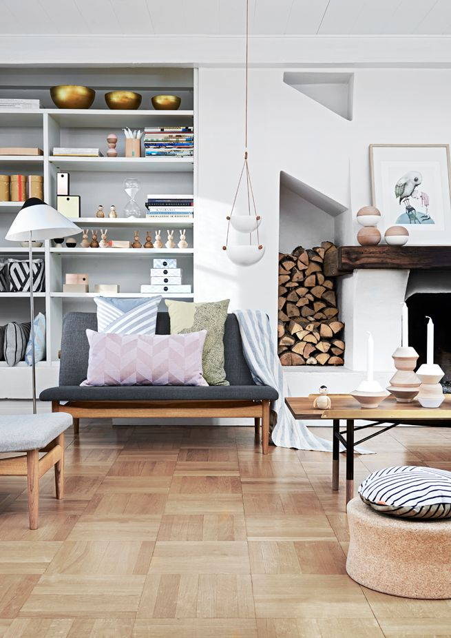 Skandinavisch einrichten: Wohnzimmer in 2019 | Dänisches ...